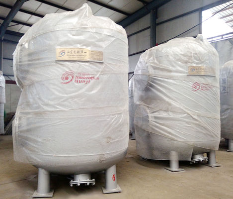 China Multi Media Activated Carbon Filter , Carbon Steel Industrial Filtration System factory